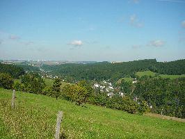 Blick auf die Ortsteile Rechenberg und Bienenm�hle