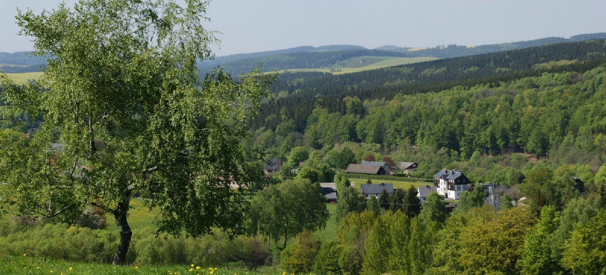Neuclausnitz im Erzgebirge
