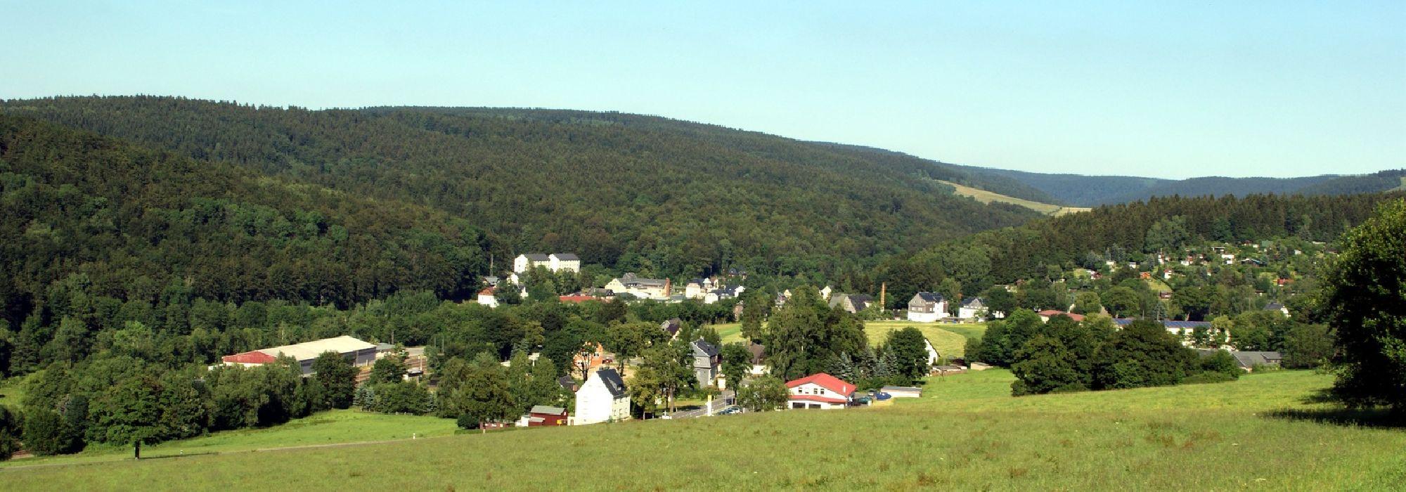 Blick auf Neuclausnitz