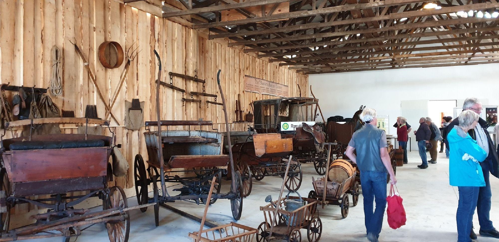 historische Landwirtschaftsmaschinenausstellung