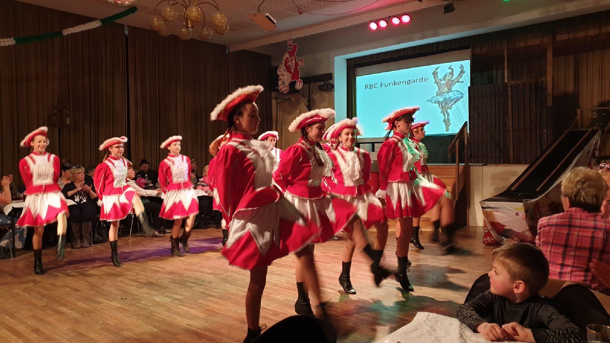 RBC Tanzgruppe Funkengarde