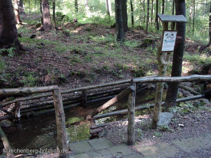 Kneipbad am Wanderweg �Trostgrund�