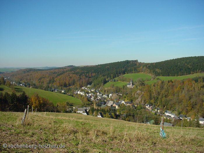 Blick auf Rechenberg und Bienenmühle