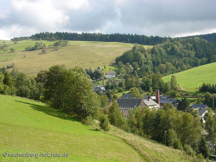 Blick auf Rechenberg