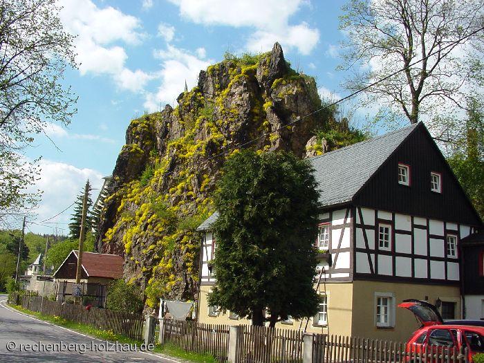 Felsen in Rechenberg