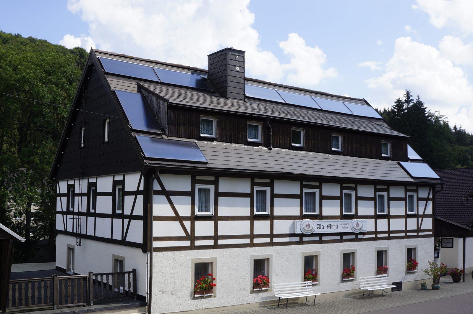 Gaststätte und Pension Alte Mühle